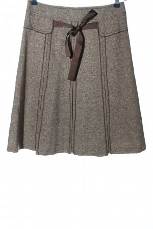 Caroll Spódnica midi jasnoszary-brązowy Melanżowy W stylu casual