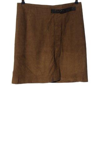 Caroll Spódnica mini brązowy W stylu casual