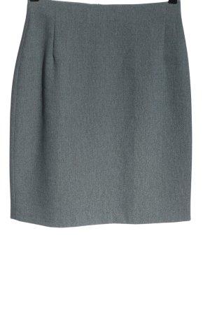 Caroll Mini rok lichtgrijs gestippeld elegant
