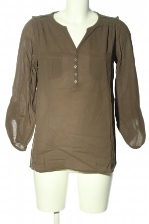 Caroll Slip-over Blouse brown business style