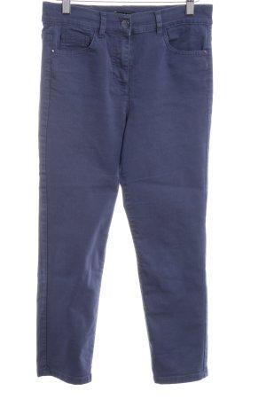 Caroll Spodnie materiałowe stalowy niebieski Melanżowy W stylu casual