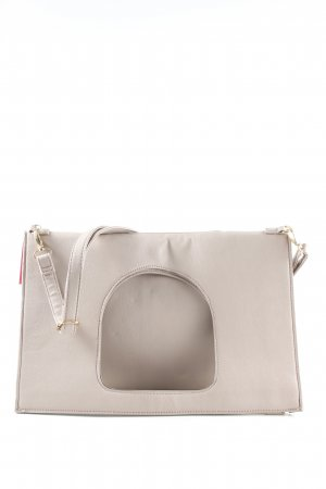 Carpisa Handtasche hellgrau-hellbeige Business-Look