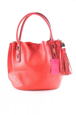 Carpisa Henkeltasche rot Business-Look
