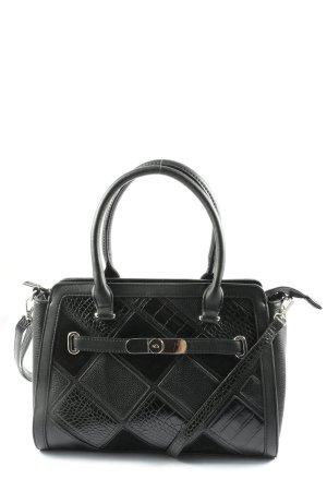 Carpisa Crossbody bag black animal pattern casual look