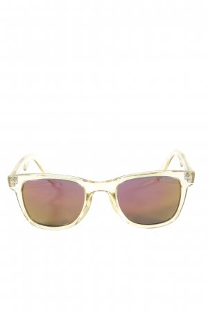 Carrera eckige Sonnenbrille braun Casual-Look