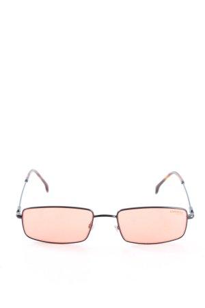 Carrera eckige Sonnenbrille nude Casual-Look