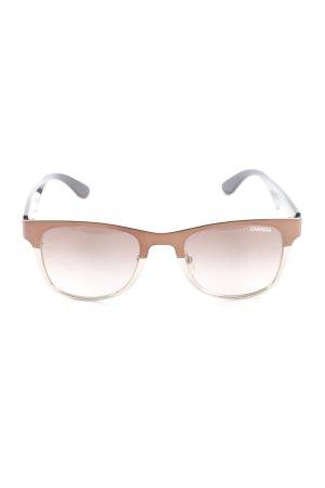 Carrera Hoekige zonnebril veelkleurig elegant