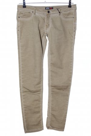 Carrera Drainpipe Trousers natural white casual look