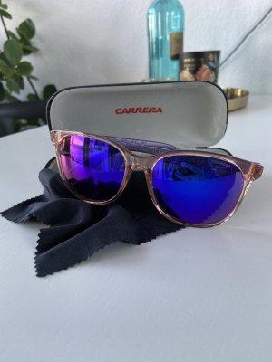 Carrera Okulary retro fiolet-różowy