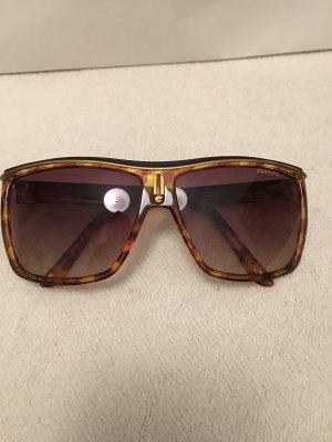Carrera Hoekige zonnebril zwart-bruin