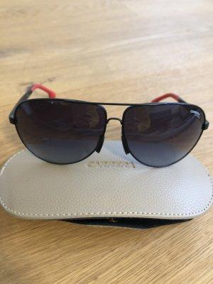 Carrera Pilotenbril zwart-rood