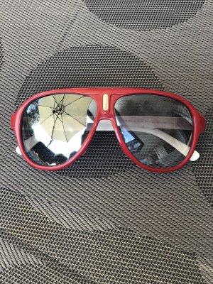 Carrera Sonnenbrille Rot Blau