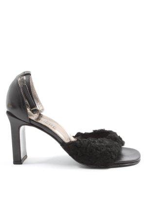 Carrière Hoge hakken sandalen zwart casual uitstraling