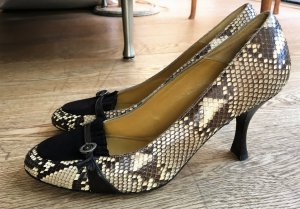 Carrière High Heels multicolored leather