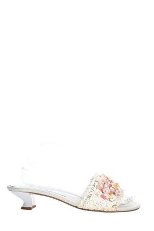 Carrière Sandalo con cinturino e tacco alto bianco stile casual