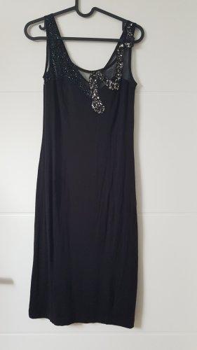 Carry Allen by Ella Singh Cekinowa sukienka czarny