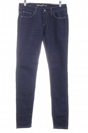 Cars Jeans Skinny jeans donkerblauw casual uitstraling