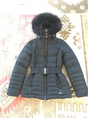 Cars Jeans Winterjack donkerblauw Polyester