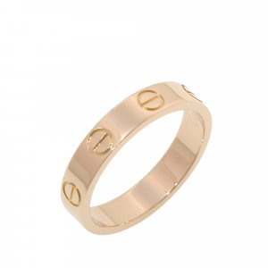 Cartier Ring pink real gold