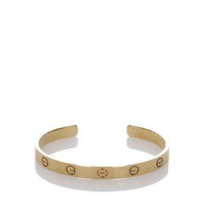Cartier 18K Yellow Gold Love Bracelet