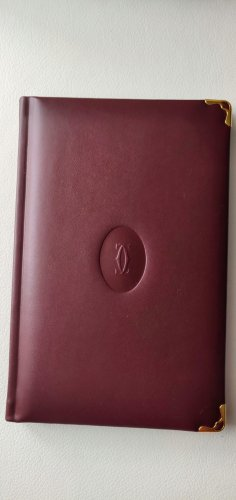 Cartier Writing Case bordeaux