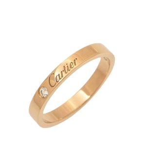 Cartier Anillo rosa oro verdadero