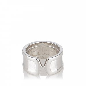 Cartier Ring silver-colored real gold