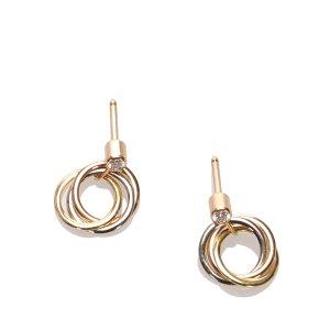 Cartier Diamond Sweet Trinity de Cartier Earrings