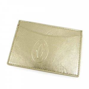 Cartier Happy Birthday Leather Card Holder