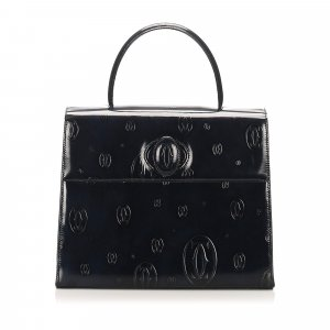 Cartier Happy Birthday Leather Handbag