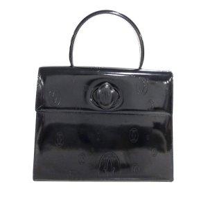 Cartier Handtas zwart Leer