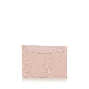 Cartier Tarjetero rosa claro Imitación de cuero