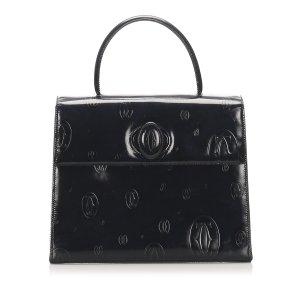 Cartier Happy Birthday Patent Leather Handbag