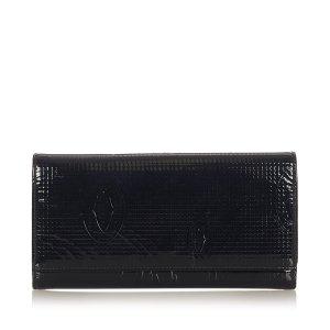 Cartier Cartera negro Imitación de cuero