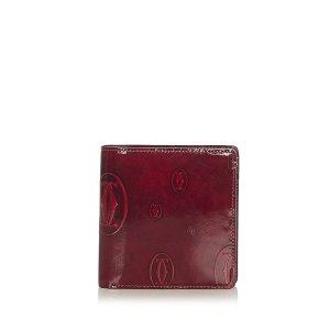 Cartier Cartera burdeos Imitación de cuero