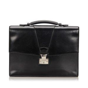 Cartier Serviette noir cuir