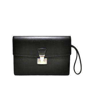 Cartier Clutch zwart Leer