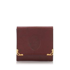 Cartier Leather Must de Cartier Coin Pouch