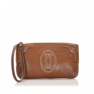 Cartier Leather Pouch