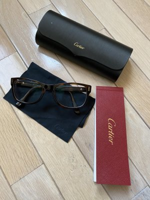 Cartier Bril bruin
