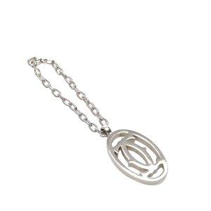 Cartier Llavero color plata metal