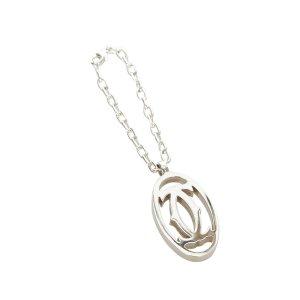 Cartier Porte-clés argenté métal
