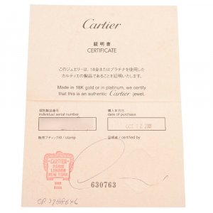 Cartier Earring gold-colored