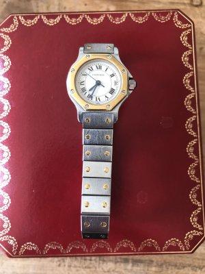 Cartier Orologio automatico argento-oro