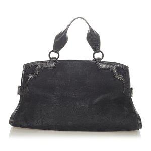 Cartier Sacoche noir cuir