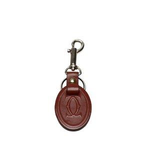 Cartier Key Case bordeaux leather