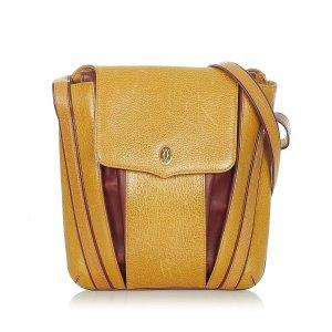 Cartier Must de Cartier Leather Backpack