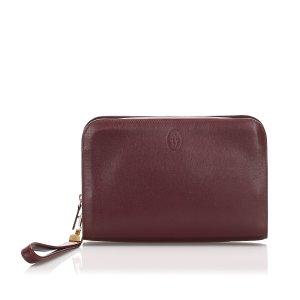 Cartier Must de Cartier Leather Clutch