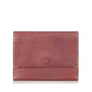 Cartier Clutch bordeaux Leer