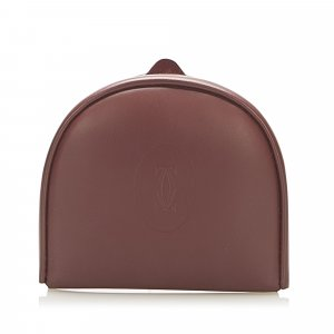 Cartier Must de Cartier Leather Coin Pouch
